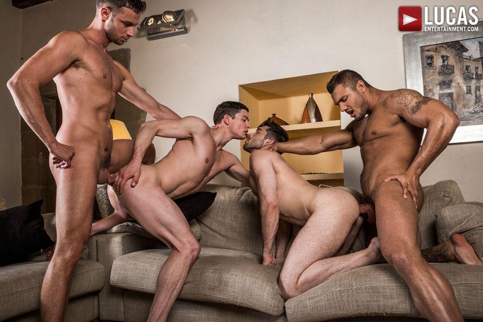Brock Magnus, Damon Heart, Ben Batemen and Ruslan Angelo 5