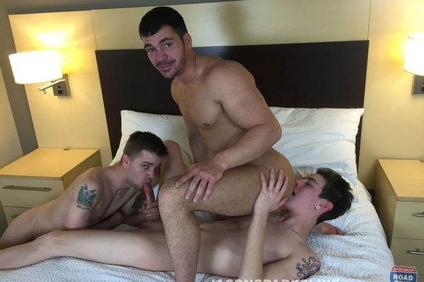 Brogan Reed, Jacob Madison and Joshua James