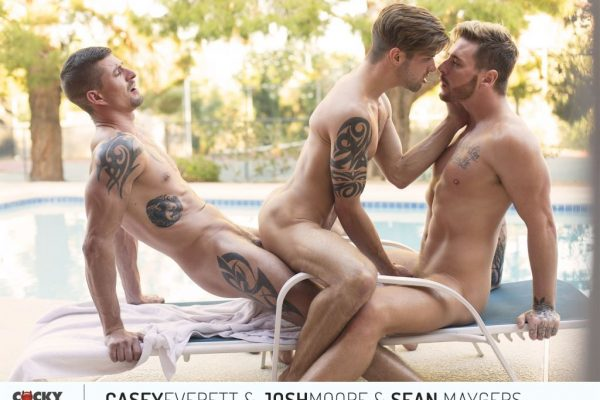 Casey Everett, Josh Moore and Sean Maygers