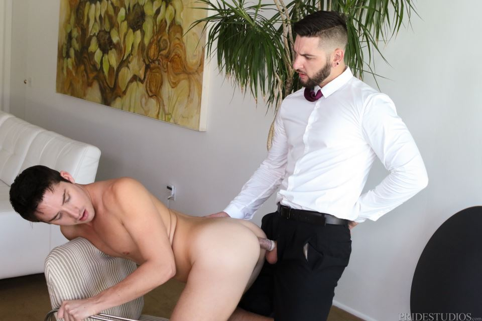 Teddy Bryce and Liam Aries