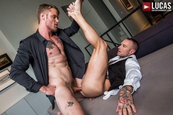 Shawn Reeve and Dylan James