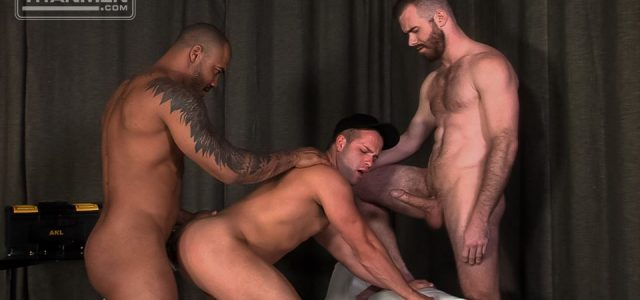 Jason Vario, Matthew Bosch and Luke Adams