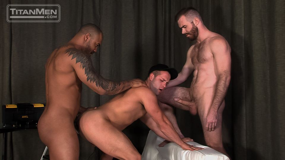 Jason Vario, Matthew Bosch and Luke Adams 9