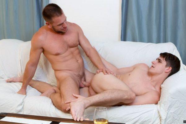 Kory Houston and Hans Berlin