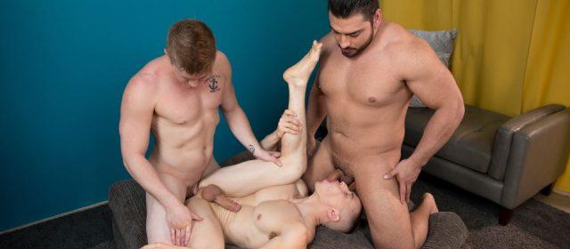 Dante Martin, Chris Blades and Derek Wulf