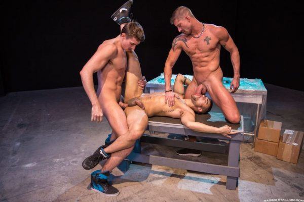 Jack Hunter, Beaux Banks and Sean Maygers