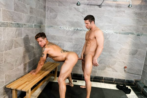 Bryce Evans and Rod Peterson