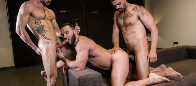 Frank Tyron, Andy Star and Donato Reyes