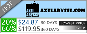 Axel Abysse - 66% Discount Off