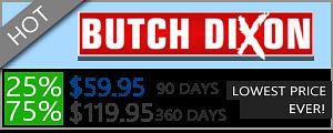 Butch Dixon - 75% Discount Off