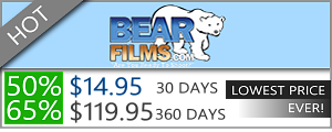 Bear Films - 50% discount off