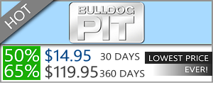 Bulldog Pit - 50% Discount Off