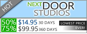 Next Door Studios Discount - $14.95 for 30 days