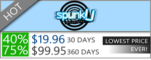 SpunkU - 75% discount off