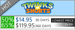Twinks In Shorts - 50% Discount Off