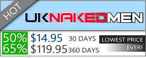 UK Naked Men - 50% Discount Off