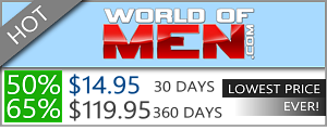 World Of Men - 50% Discount Off
