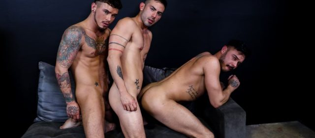 Seth Knight, Cesar Rossi and Cris Knight