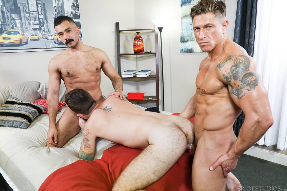Bryce Evans, Jay Donahue and Chad Stone