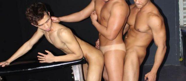 Alex Chu, Ken Ott and Levy Foxx