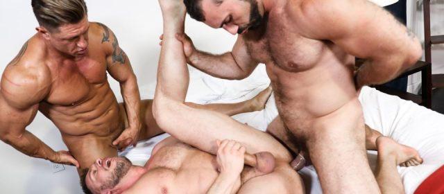 Bryce Evans, Jaxton Wheeler and Hans Berlin