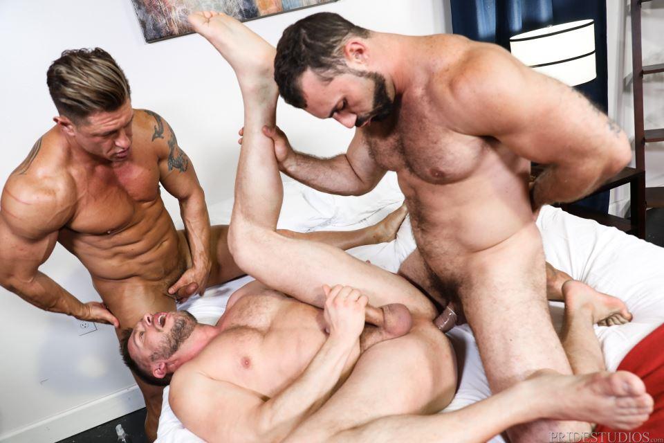 Bryce Evans, Jaxton Wheeler and Hans Berlin 7