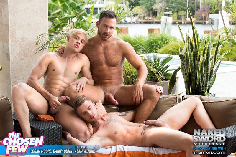 Alam Wernik, Logan Moore and Danny Gunn