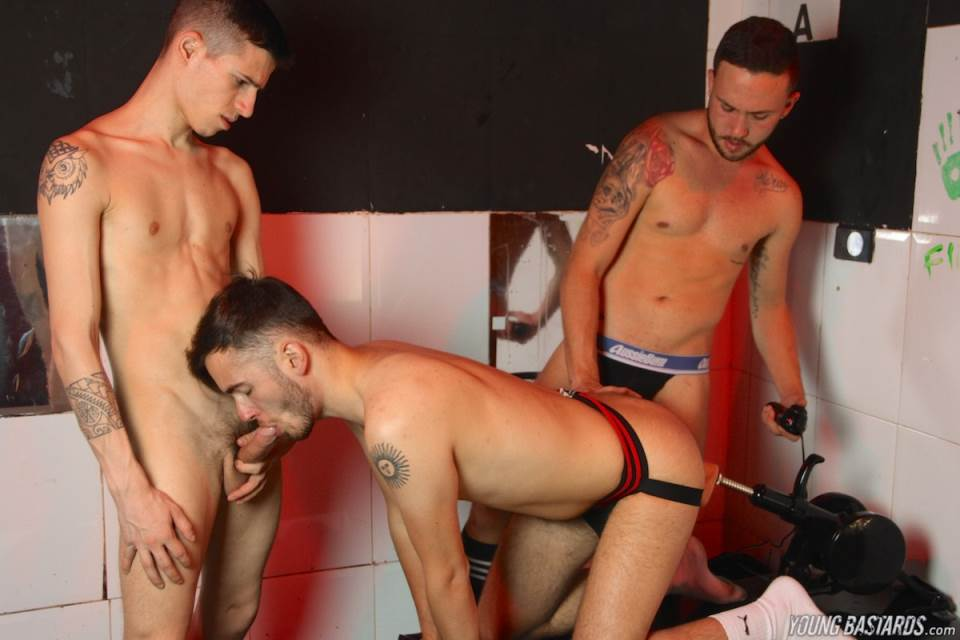 Alec Loob, Mario Benedet and David Luca 4