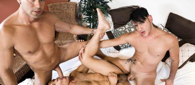 Alexander Garrett, Rego Bello and Adrian Cortez