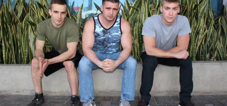 Mathias, Donte Thick and Blaine Jameson