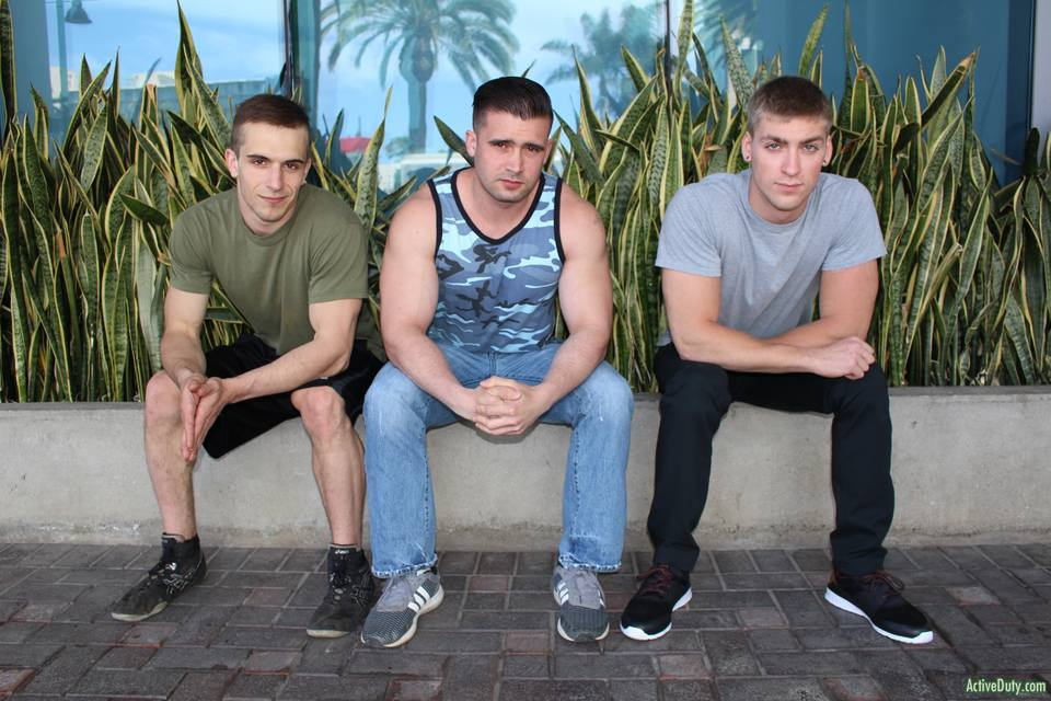 Mathias, Donte Thick and Blaine Jameson 8