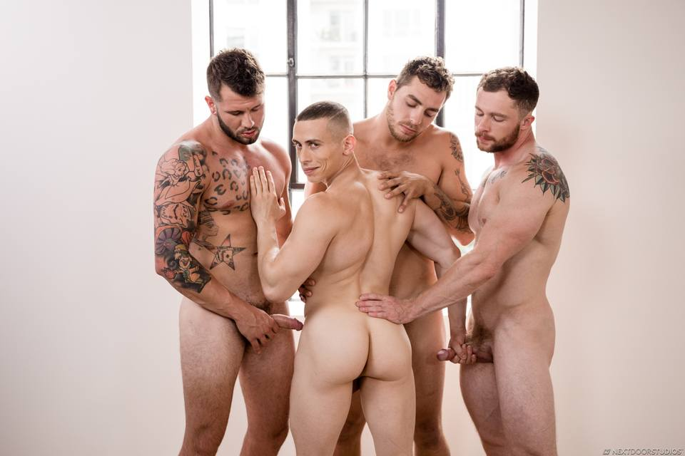 Dante Martin, Markie More, Johnny Hill and Carter Woods 1