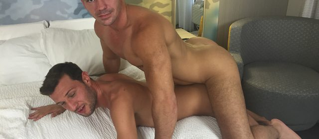 Damien Rivers and Brogan Reed