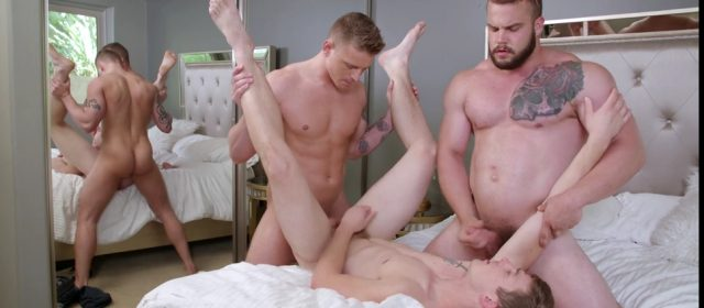 Gunner, Nathan Styles and Dax Carter