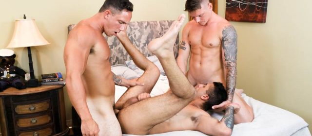 Laith Inkley, Cole Weston and Gunner