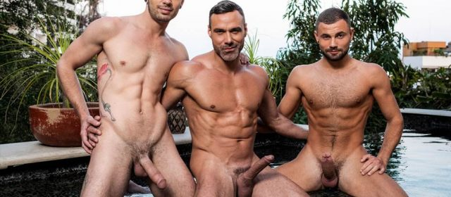 Manuel Skye, Sean Xavier and Jeffrey Lloyd