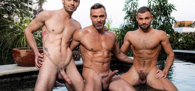Manuel Skye, Sean Xavier and Jeffrey Lloyd