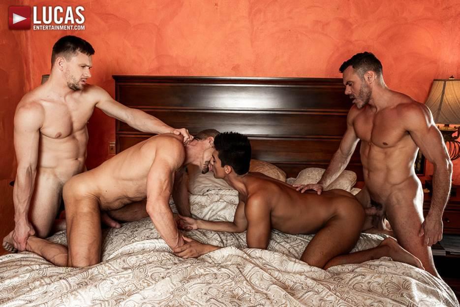 Dallas Steele, Manuel Skye, Andrey Vic and Benjamin Gomez 2