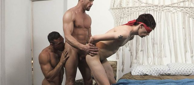 Family Dick: Myles Landon, Manuel Skye and Charlie Anderson