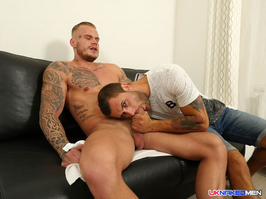 Gerasim Spartak and Ryan Cage