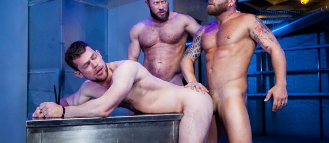 Johnny Ryder, Kurtis Wolfe and Riley Mitchel