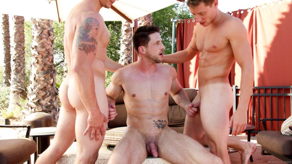 Roman Todd, Spencer Laval and Justin Matthews 6