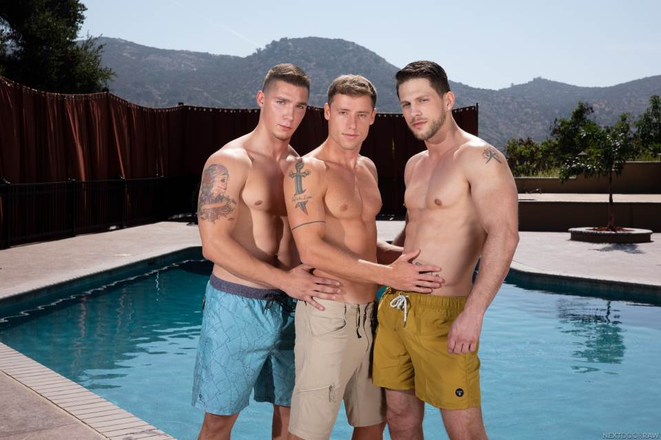 Roman Todd, Spencer Laval and Justin Matthews