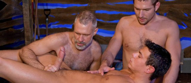 Allen Silver, Jesse Santana and Andrew Justice