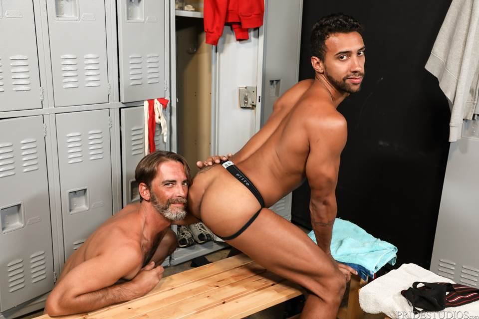 Joe Parker and Jay Alexander For Pride Studios