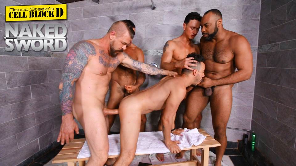Rocco Steele Presents: CELL BLOCK D 8