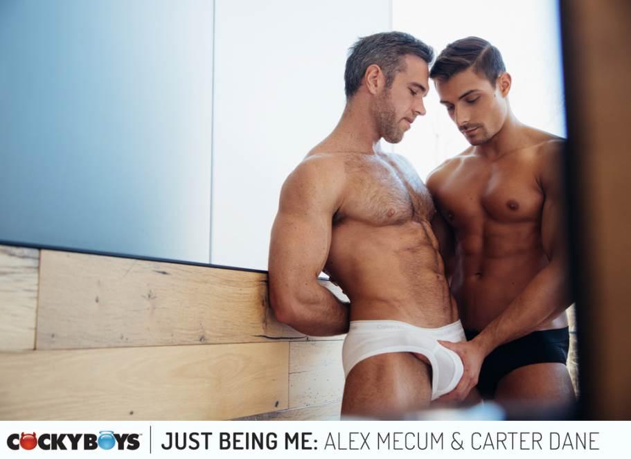 Alex Mecum and Carter Dane for Cocky Boys