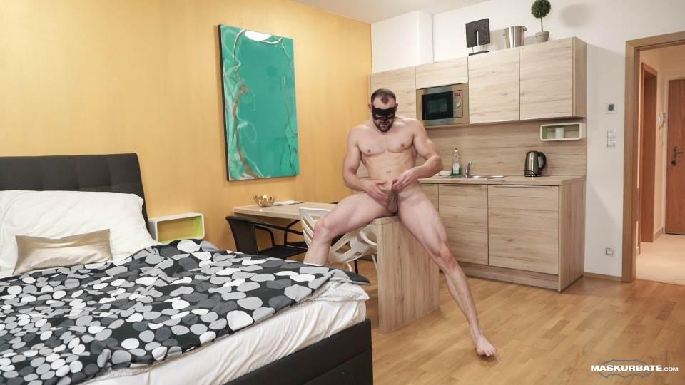 Obaid Jerks Off For Maskurbate 6
