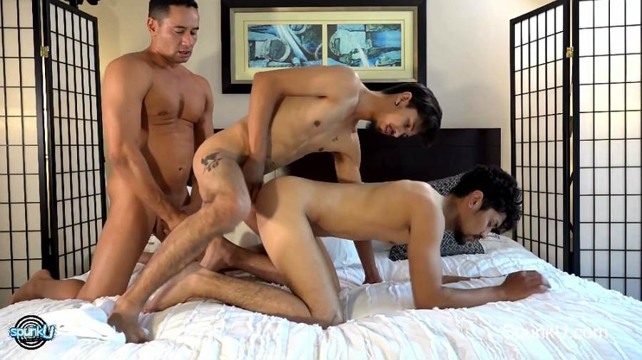 SpunkU: Diego, Rave Hardick and Gabe Dallesandro 3
