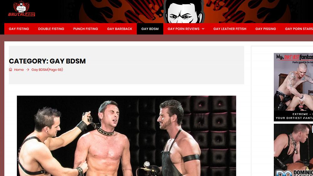 BrutalRed.Com - BDSM Page